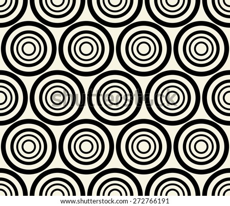 concentric dark  black circles