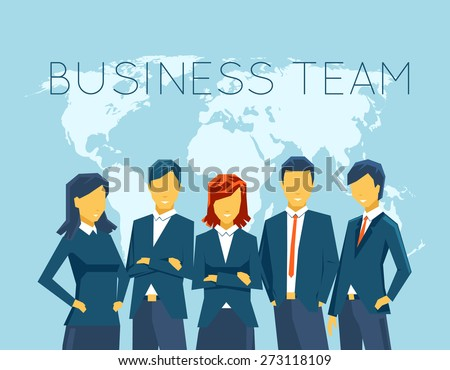 business team  human resources