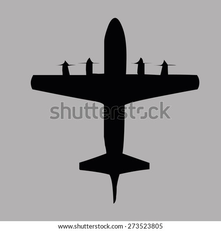 airplanes top view