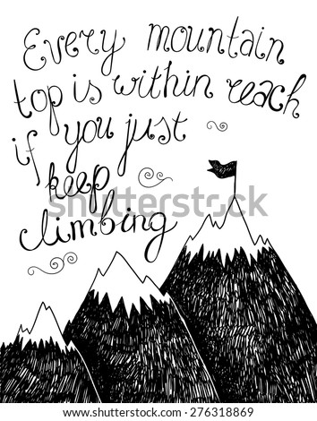 vector motivation quote  poster