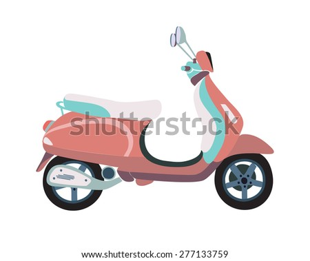 vector illustration of old