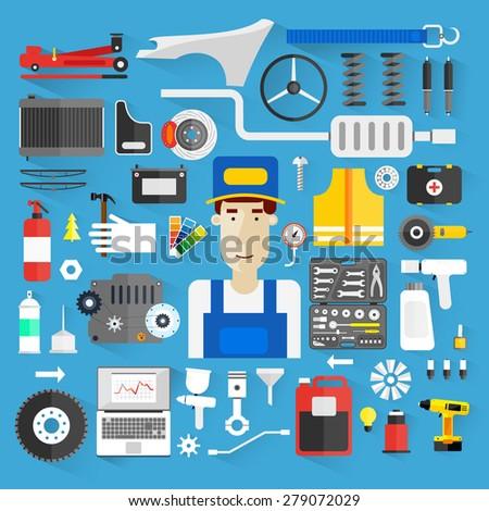 car service auto mechanic
