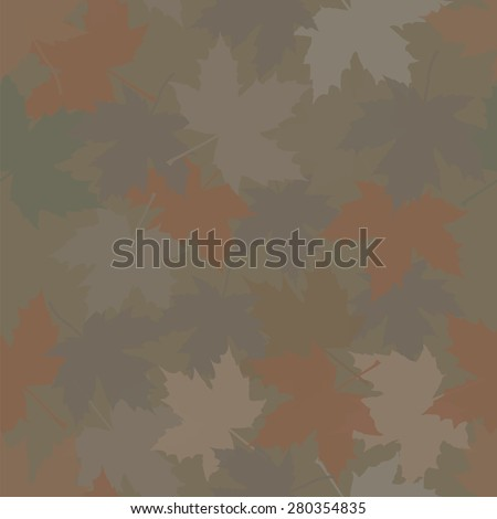 hunting camouflage maple forest