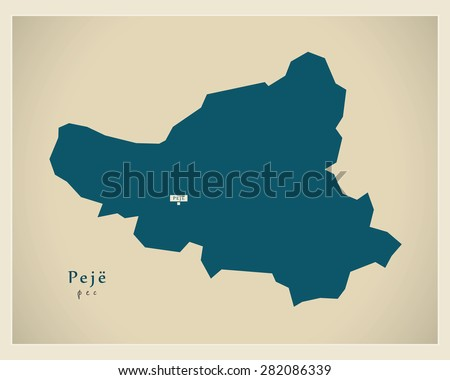 modern map   peje rs