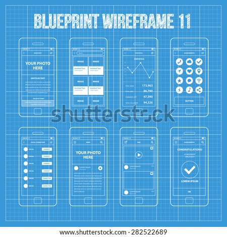 mobile app wireframe ui kit 11