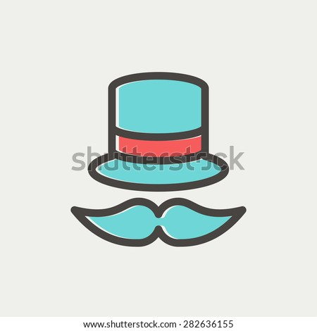 vintage fashion hat and