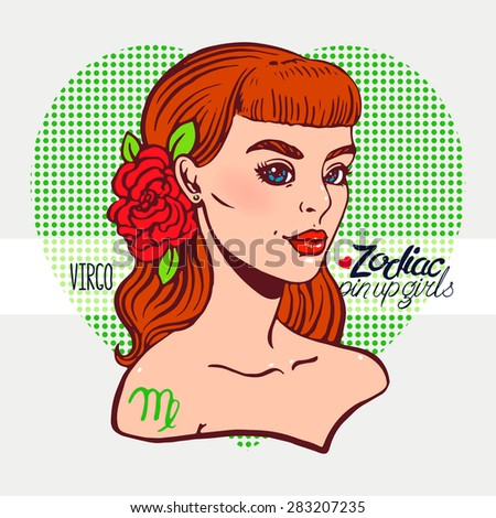 zodiac signs   virgo as a girl