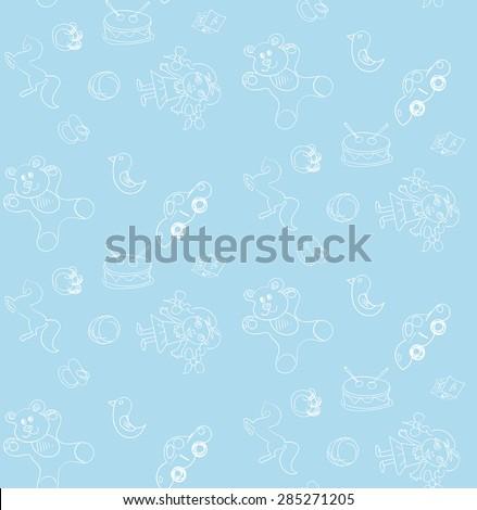 seamless pattern baby