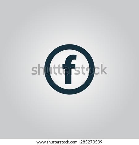 basic font for letter f flat