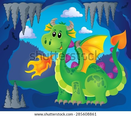 image with happy dragon theme 3