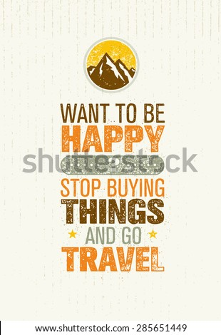 want to be happy  stop buying