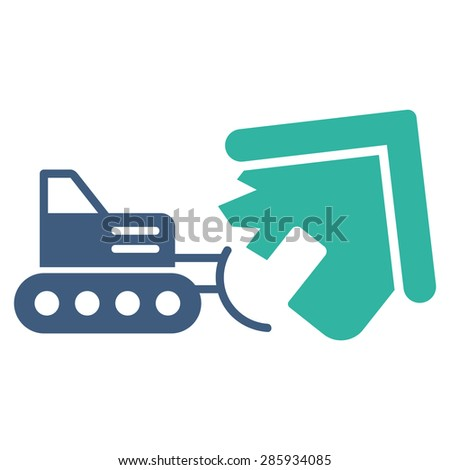 demolition icon from business
