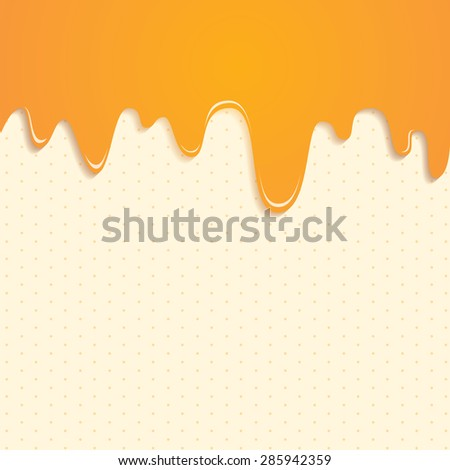vector background with sweet