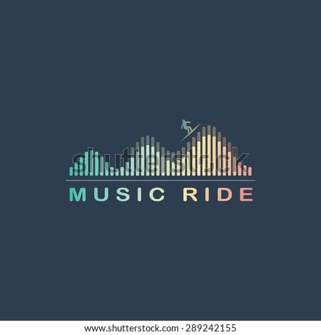 music equalizer symbol