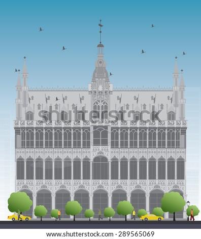 building maison du roi  king's