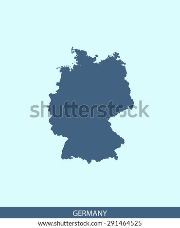 germany map vector  germany map