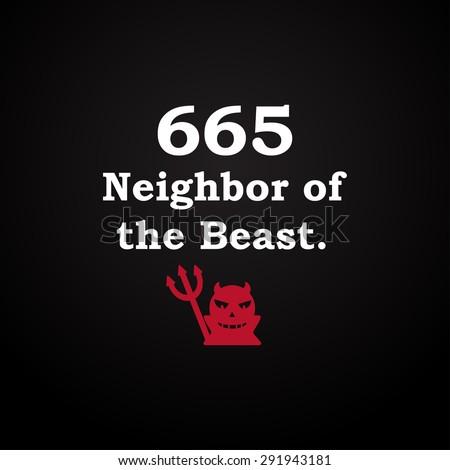 665 neighbor of the beast