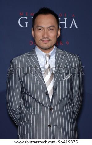 Japanese actor Ken Watanabe, leukemia