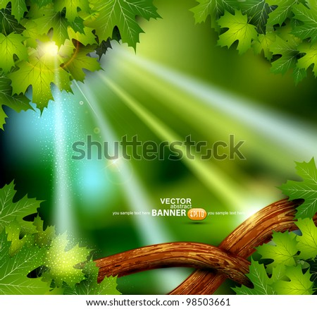 vector background of the