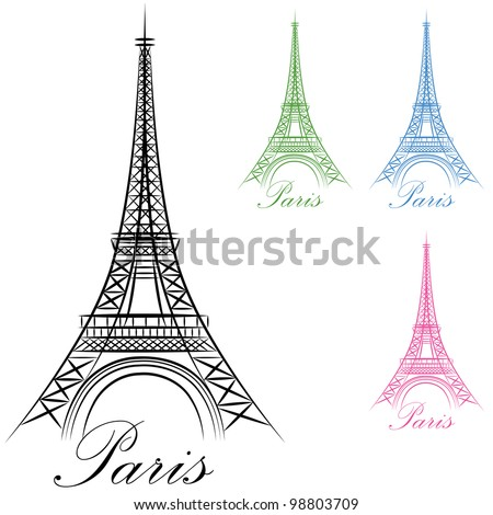 an image of a paris eiffel