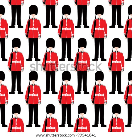 beefeater soldier seamless