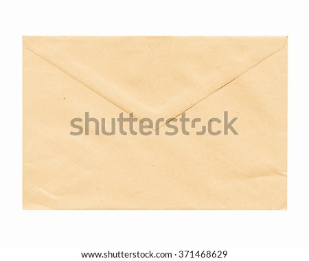 A picture of Letter or small packet envelope vintage