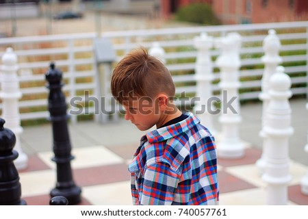 young caucasian boy wearing red blue stock photo royalty free