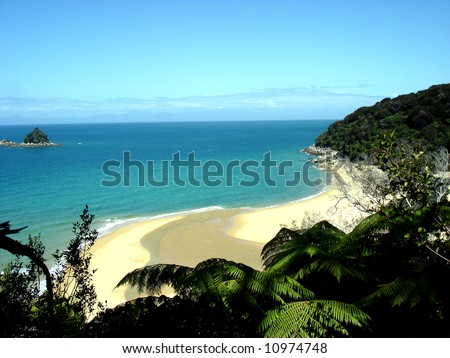 Abel Tasman - stock photo