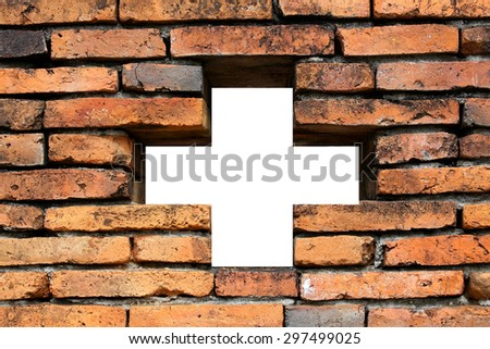 abstract background of brick wall - stock photo