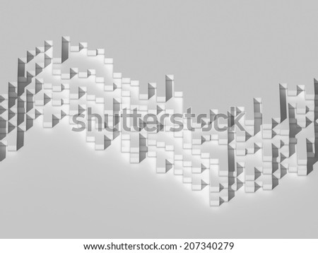 abstract background on white