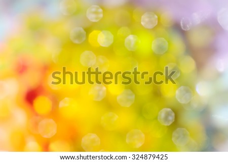 Abstract blur bright colorful bokeh background - stock photo