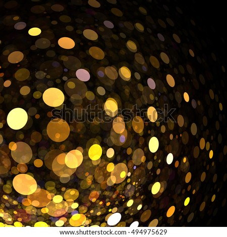 Abstract   Bokeh   Background - Fractal Art