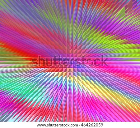 Abstract colorful extruded background - jpg illustration