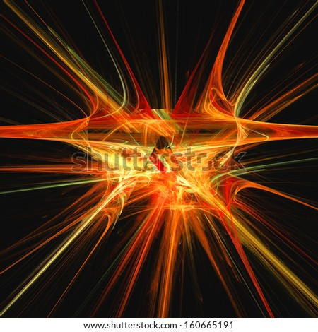 Abstract light fractal background, best viewed many details when viewed at full size