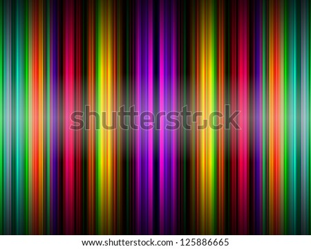 abstract lines design on dark background - stock photo