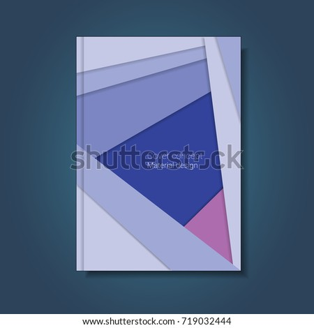 Abstract material design cover poster banner stock illustration abstract material design for cover poster banner report professional book flayer reheart Gallery