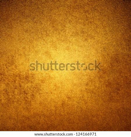 abstract orange background peach color center spotlight, dark brown vintage grunge background texture orange paper layout design for warm elegant background, rich autumn color, web design background - stock photo