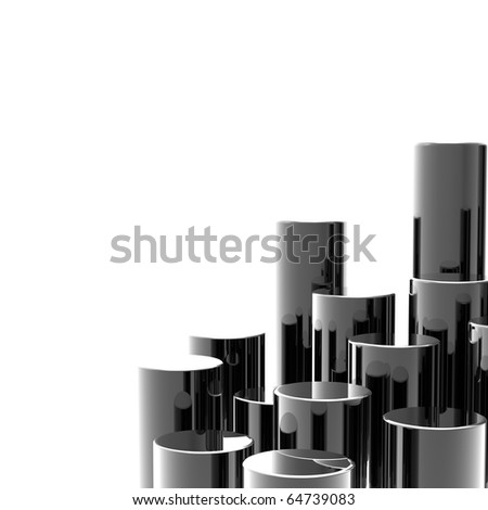 Abstract technology background with copy space. - stock photo