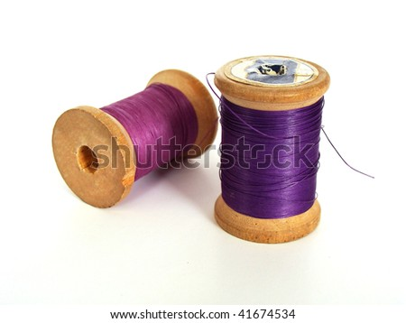 accessories of sewing - stock photo