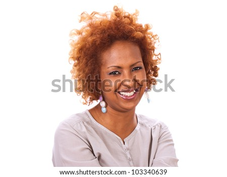 African young women - stock photo
