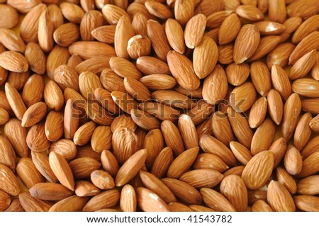 almonds can be used as a background