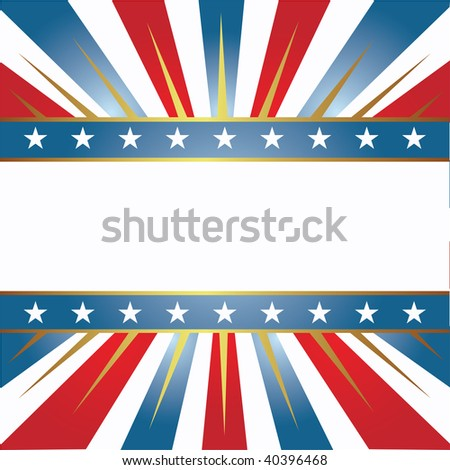 American color background