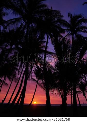 """Anaehoomalu Bay"" at Waikoloa, Hawaii - stock photo"