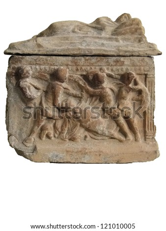 ancient Roman sculpture and decoration  found in Avignon, France