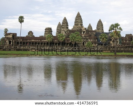 Angkor Wat, Cambodia  - stock photo