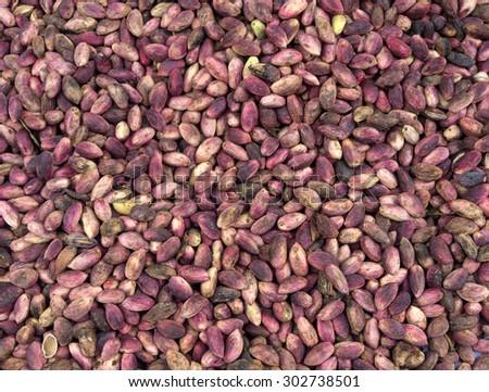 Antep Shelled pistachio nuts, Gaziantep, Turkey - stock photo