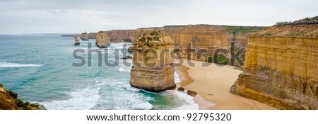 12 apostles - Australia - stock photo
