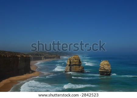 12 Apostles - Great Ocean Road Victoria - stock photo