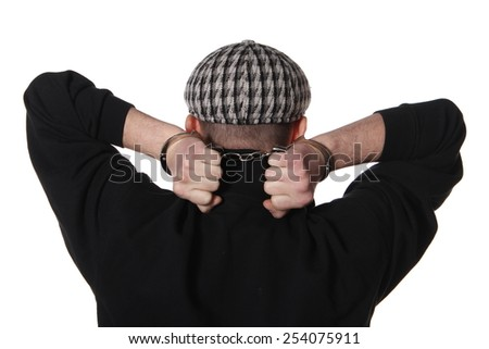 Arrest - stock photo