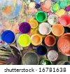 art studio - stock photo